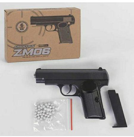 Пистолет Страйкабольний ZM - 06 ТТ с магазином + пульки в подарок