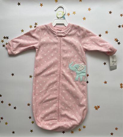 Спальний мішок - конверт для новорожденого Carters 0-9м.