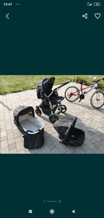 Wózek dziecięcy 3 częściowy z torbą Radlin - image 1