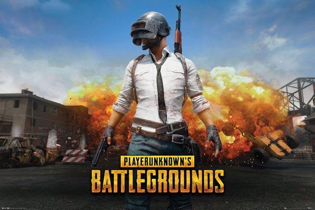PUBG Playerunknown Plakat dla gracza 91,5x61 cm