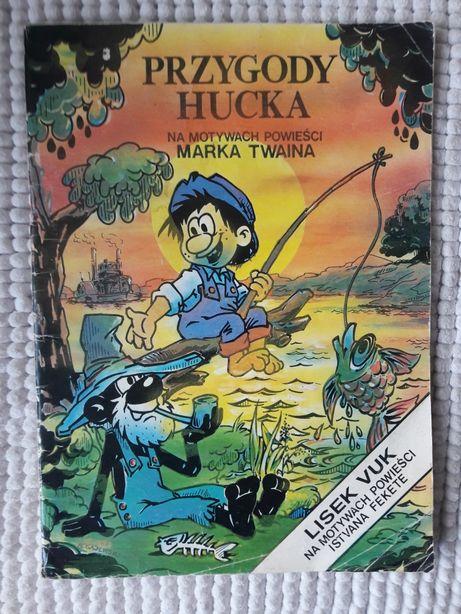 Przygody Hucka stary komiks dla dzieci i młodzieży Mark Twain