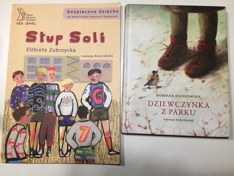 Lektury szkolne klasa II Dziewczynka z Parku, Słup Soli