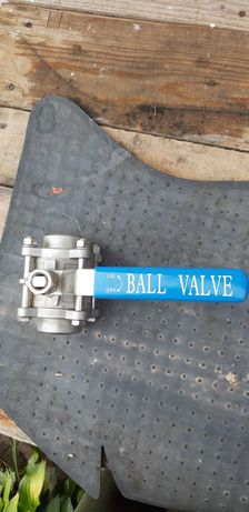 Кран шаровый Ball Valve 3-х компонентный 40 дюймовый