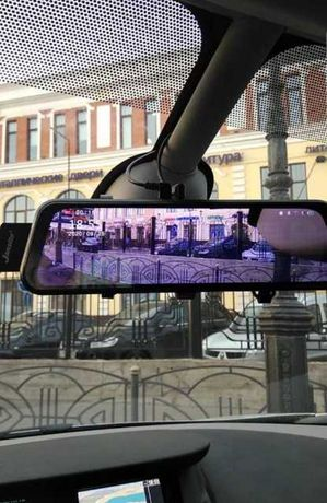 Зеркало видеорегистратор с камерой заднего вида, 10 дюймов,парктроник