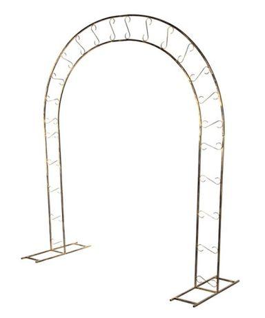 Brama Metalowa Podpórka Pergola Do Ogrodu