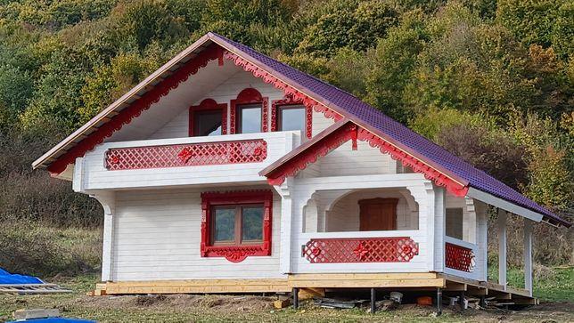 Дом в горах 50км от Ужгород 2,6га земли