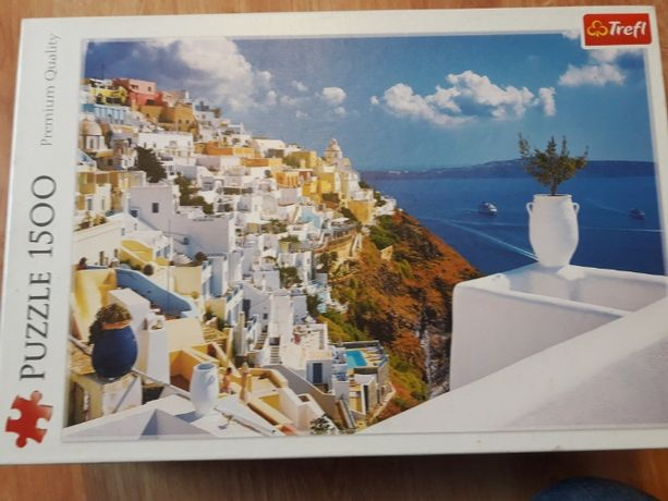 Trefl Puzzle 1500 Santorini, Grecja