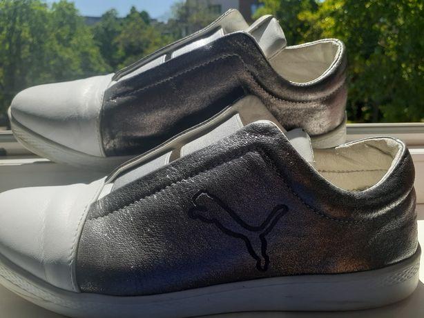 Кеды кроссовки Puma 24,5 кожа