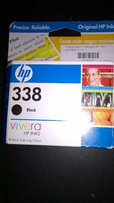 Tinteiro HP 338 black - na embalagem original (selada)