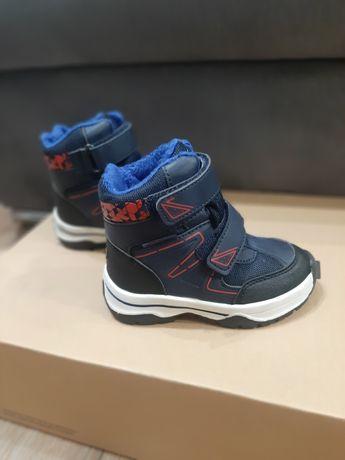 Buty zimowe chłopięce rozmiar 25