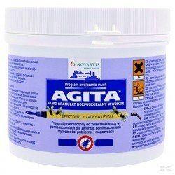 Preparat owadobójczy Agita 10 WG, 400 g na muchy prusaki