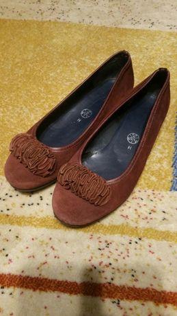 Damskie skórzane buty Ara roz.40 wkl.26 cm