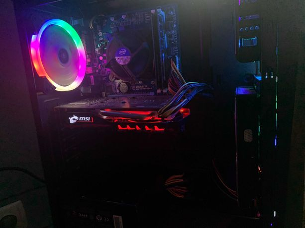 Ігровий ПК i5-3340, MSI GeForce GTX 1050 Gaming X 2GB,ОЗП 8Гб,SSD 120,