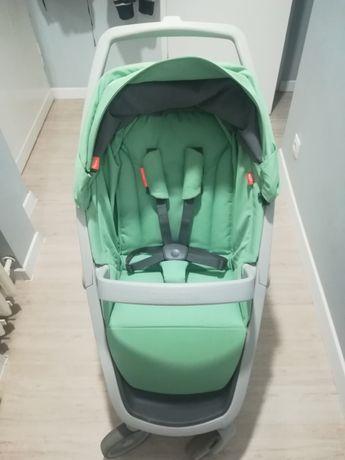 Greentom classic miętowy wózek spacerowy