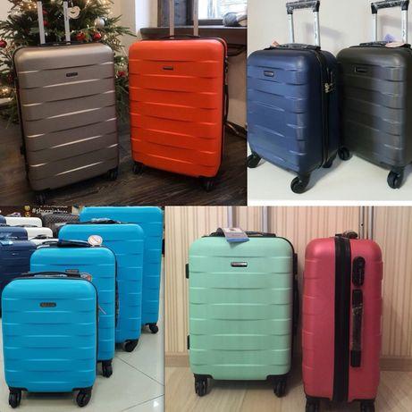 ОГРОМНЫЙ ВЫБОР чемодан валіза сумка на колесах дорожная пластиковый