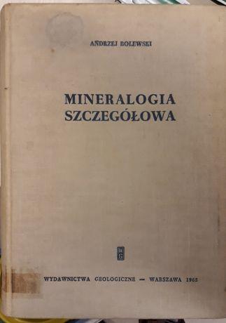 Mineralogia szczegółowa Bolewski 1965