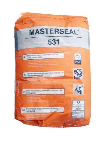 MasterSeal 531 Argamassa monocomponente, impermeável, sulforesistente,
