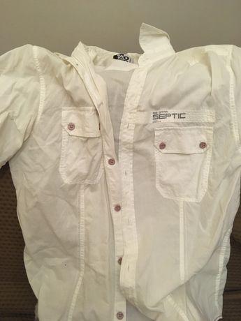 Big Star biala koszula na lato naLata okazja