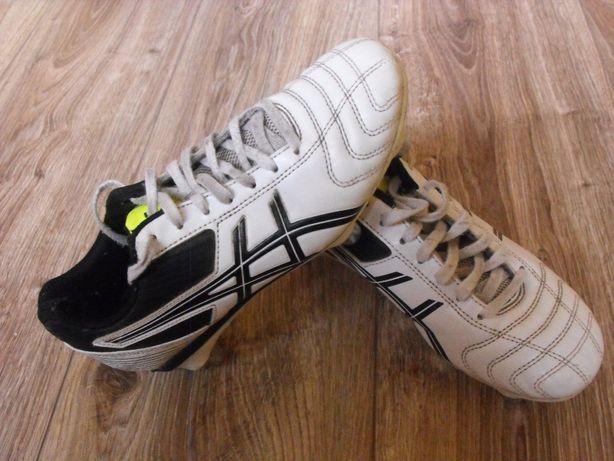 Buty ASICS 35/36 22.5cm wkręty korki wkręcane stan BDB do piłki nożnej