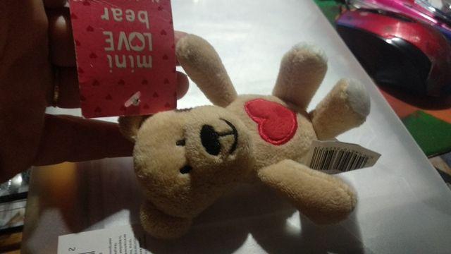 игрушка фирменная mini love bear мишка сердце новая небольшая