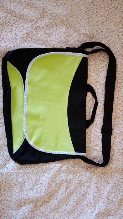 torba materiałowa na laptopa