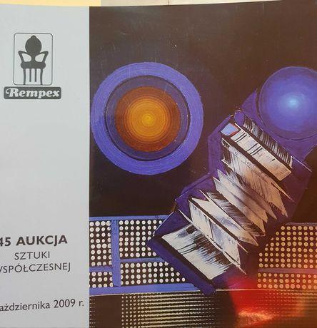 45 aukcja sztuki współczesnej  2009 r,   Rempex