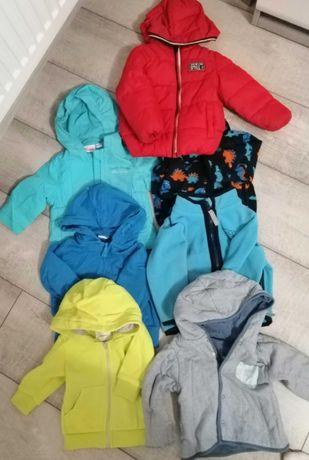 Bluzy, kurtki chłopięce