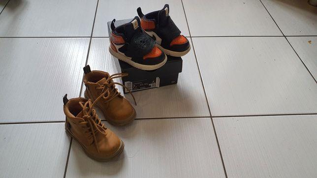 Детские ботинки  Zara 22р- р и кросовки