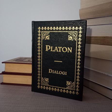 Platon - Dialogi Ex Libris CIL Uczta Obrona Sokratesa filozofia