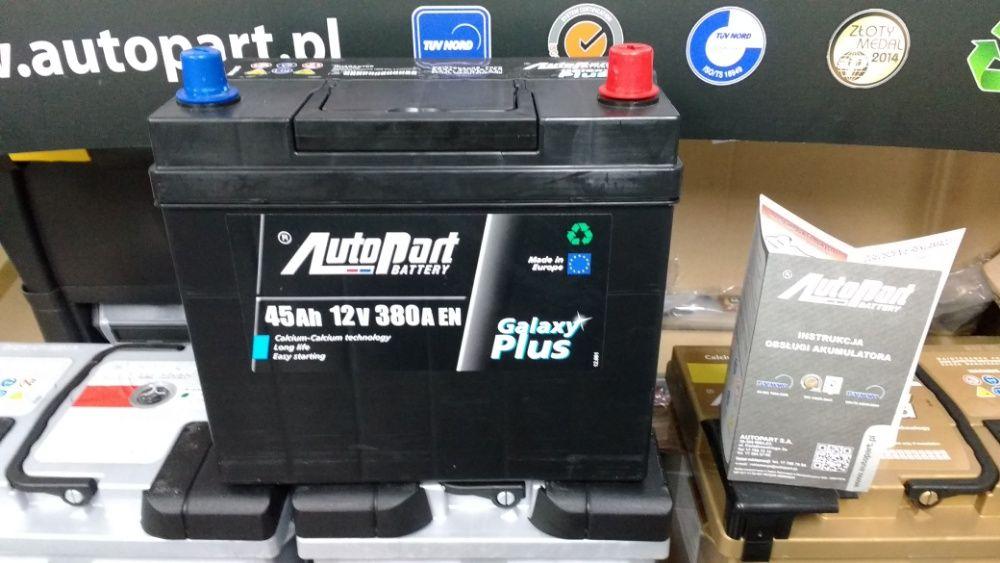 Akumulator AutoPart Japoński 45Ah 380A CA456 EA456 B32 YBX5053 Kraków