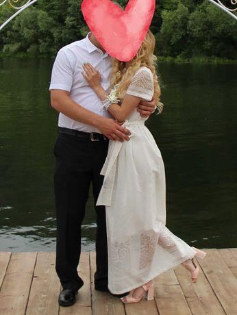 Вечірня/ весільна сукня/ Вечернее/свадебное платье XS/S