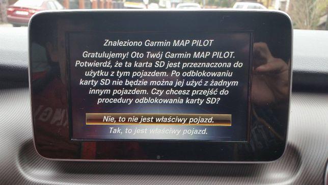 KARTA SD Mapa Mercedes Garmin Map Pilot CLA M CLS E GL GLA GLC GLE V17