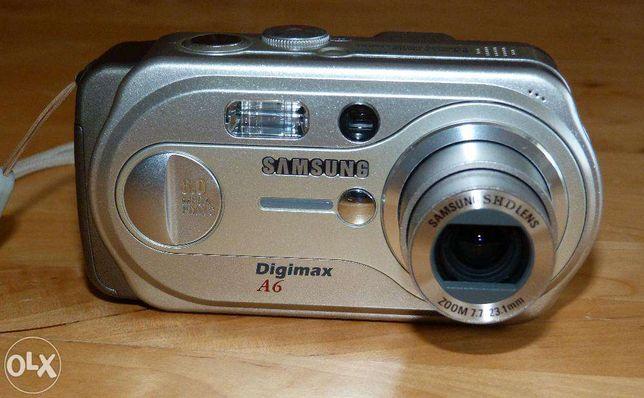 Aparat Samsung Digimax A6/A63 wraz z zestawem