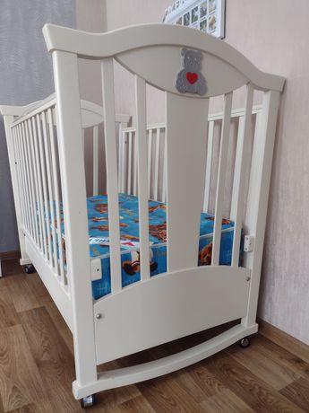 Детская кровать с ортопедическим матрасом Bенето