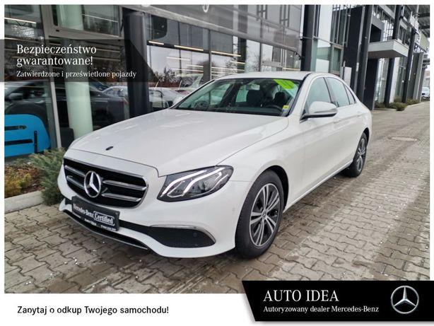 Mercedes-Benz Klasa E Salon Polska, gwarancja fabryczna, VAT23%, 4x4, LED, kamera cofania