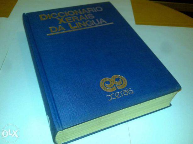 diccionario xerais da lingua (em galego) 1987 livro raro