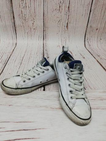 Trampki Converse All Star krótkie białe damskie roz 37 wkładka 22,5cm