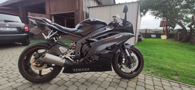 Yamaha r6 RJ 11 2006r.