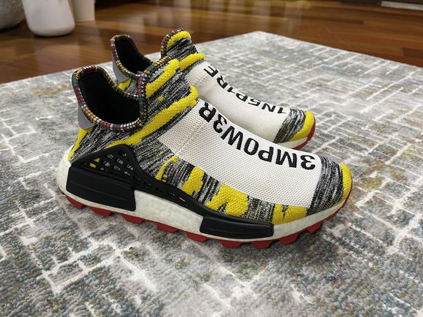 Adidas by Pharrell Williams Solar HU NMD sneakers (ORIGINAIS usadas)