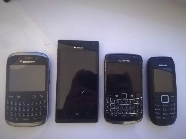 Diversos telemóveis