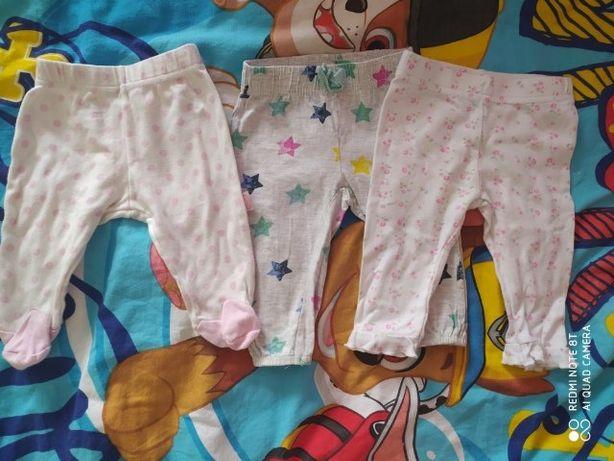 Zadbana wyprawka dla dziewczynki ubranka oraz inne rzeczy bardzo tanio