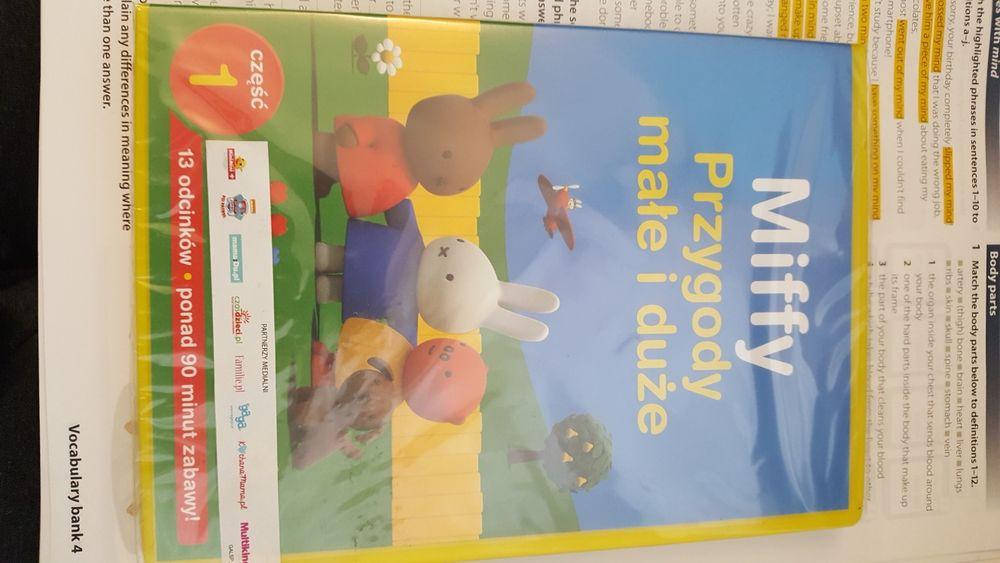 Płyta dvd z bajką dla dzieci Miffy przygody małe i duże. Chrzanów - image 1