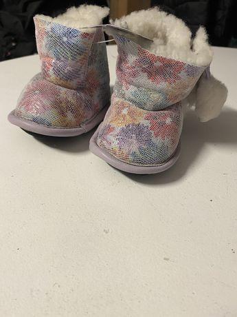 Nowe buty zimowe niemowlęce dla dziewczynki