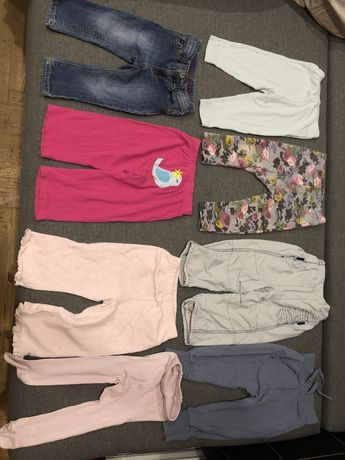 Штани колготи лосіни джинси 9-12 міс 1 рік