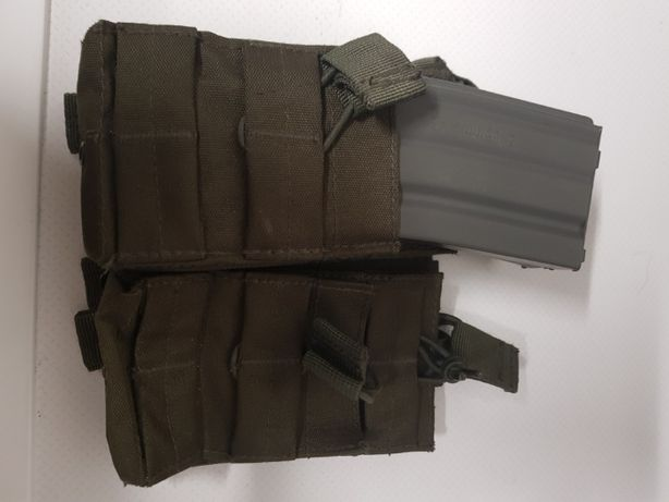Airsoft 2x2 m4 mag pouch od