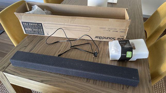 Soundbar LG SP2 NOVA em caixa