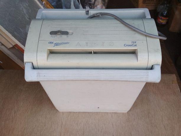 Уничтожитель бумаги шредер БУ GBC Shredmaster 75x