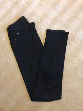 Czarne jeansy Lee W27 L31, S, model Skyler