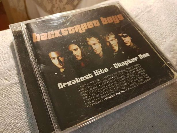 CD: Backstreet Boys - Greatest Hits: Chapter One