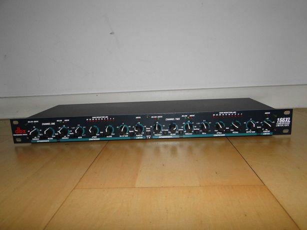Dwu Kanałowy Kompresor Limiter Gate Expander DBX 166XL.Okazja